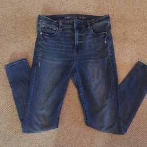 American Eagle high waisted skinny jeans, size 10R